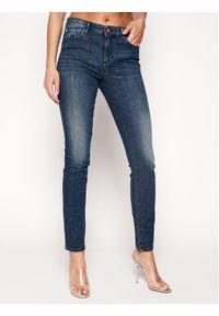 Armani Exchange Jeansy 3HYJ01 Y2NPZ 1500 Granatowy Super Skinny Fit. Kolor: niebieski. Materiał: jeans