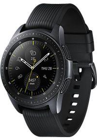 SAMSUNG - Smartwatch Samsung Galaxy Watch 42mm Czarny (SM-R810NZKAXEO). Rodzaj zegarka: smartwatch. Kolor: czarny