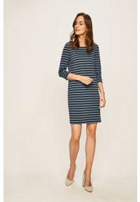 Niebieska sukienka Vila na co dzień, casualowa, mini, prosta