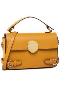 Żółta torebka klasyczna QUAZI klasyczna