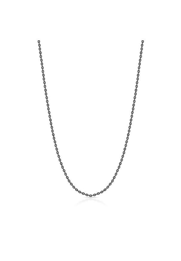 W.KRUK Wyjątkowy Srebrny Łańcuszek - srebro 925 - SCR/LS100C. Materiał: srebrne. Kolor: srebrny. Wzór: ze splotem