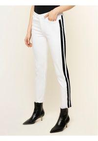 Białe jeansy slim Escada Sport sportowe