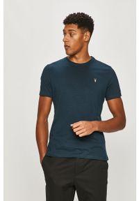 T-shirt AllSaints z aplikacjami