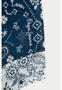 Niebieska chusta Pepe Jeans
