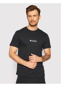 columbia - Columbia T-Shirt Csc Basic Logo™ 1680053 Czarny Regular Fit. Kolor: czarny