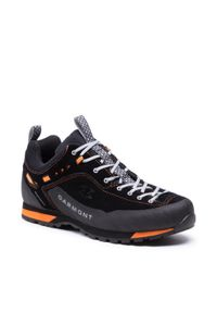 Garmont - Trekkingi GARMONT - 000272 Dragontail Lt Black/Orange. Kolor: czarny. Materiał: skóra, zamsz. Szerokość cholewki: normalna. Sport: turystyka piesza