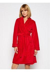Czerwony szlafrok Lauren Ralph Lauren