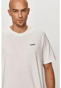 Biały t-shirt Levi's® na spotkanie biznesowe, biznesowy