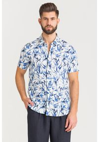 Koszula Armani Exchange na lato, na spotkanie biznesowe, biznesowa
