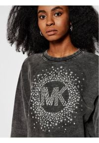 MICHAEL Michael Kors Bluza Star Embellished Logo MH05MTJD8L Szary Relaxed Fit. Kolor: szary
