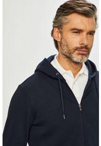Niebieska bluza rozpinana Polo Ralph Lauren z kapturem, z nadrukiem
