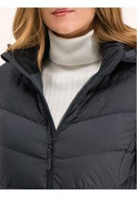 Czarny płaszcz zimowy Jack Wolfskin