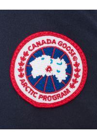 CANADA GOOSE - Zielona parka Macmillan. Kolor: zielony. Materiał: materiał. Długość rękawa: długi rękaw. Długość: długie. Sezon: zima