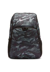 Plecak Nike Brasilia 9.0 Print BA6216. Materiał: materiał, poliester. Wzór: nadruk