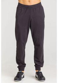 Spodnie dresowe EA7 Emporio Armani z aplikacjami