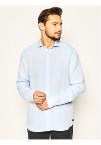 Baldessarini Koszula Henry 41232/40015/6015 Niebieski Regular Fit. Kolor: niebieski