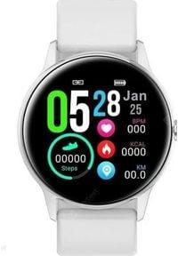 Smartwatch Pacific ZY40C + pasek Biały. Rodzaj zegarka: smartwatch. Kolor: biały