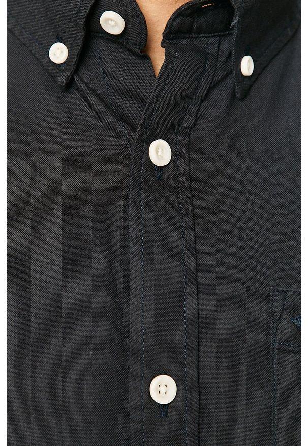 Niebieska koszula PRODUKT by Jack & Jones na co dzień, casualowa, długa