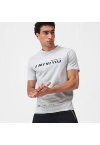 Sinsay - Koszulka regular fit SNSY PERFORMANCE - Jasny szary. Kolor: szary