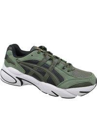 Zielone sneakersy Asics lifestyle z cholewką