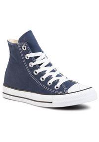 Niebieskie trampki Converse casualowe, na co dzień, na lato