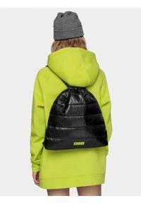 4f - Plecak-worek z kolekcji LIME LINE. Kolor: czarny