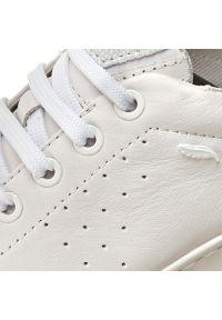 Geox - Sneakersy GEOX - D Jaysen A D621BA 00085 C1001 White. Okazja: na co dzień. Zapięcie: sznurówki. Kolor: biały. Materiał: skóra, zamsz. Szerokość cholewki: normalna. Styl: casual