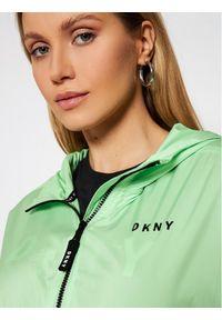 Zielona kurtka przejściowa DKNY Sport sportowa
