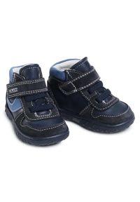 Niebieskie buty zimowe Primigi