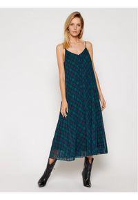 Sukienka TOMMY HILFIGER prosta, na co dzień, w kolorowe wzory, casualowa