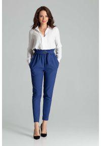 Niebieskie spodnie Katrus klasyczne