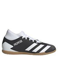 Adidas - Buty halowe adidas Predator 20.4 IN FW9606. Zapięcie: sznurówki. Materiał: neopren, materiał, syntetyk. Szerokość cholewki: normalna. Sport: piłka nożna