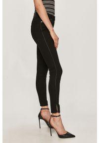 Czarne jeansy Hugo gładkie