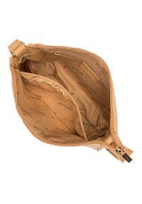 Wittchen - Torebka na ramię z doczepianą saszetką. Kolor: beżowy. Dodatki: z breloczkiem. Materiał: skórzane. Styl: klasyczny. Rodzaj torebki: na ramię #4