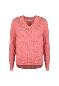 Sweter Calvin Klein z aplikacjami, casualowy, na co dzień