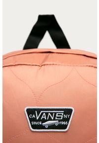 Różowy plecak Vans