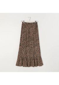 Sinsay - Plisowana spódnica midi - Wielobarwny