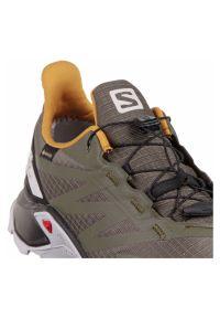 salomon - Buty do biegania Salomon Supercross Blast GTX L41246200. Okazja: na co dzień. Zapięcie: sznurówki. Materiał: materiał. Szerokość cholewki: normalna. Technologia: Gore-Tex. Wzór: jodełka. Model: Salomon Speedcross. Sport: bieganie