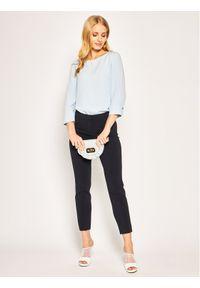 Niebieskie spodnie materiałowe Pennyblack