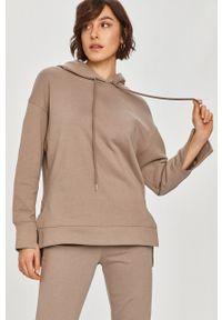 Answear Lab - Bluza bawełniana. Typ kołnierza: kaptur. Kolor: różowy. Materiał: bawełna. Styl: wakacyjny