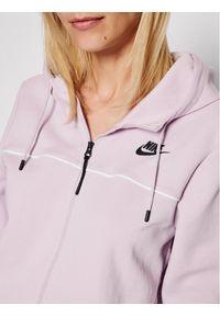 Nike Bluza Sportswear Millenium Fleece CZ8338 Fioletowy Standard Fit. Kolor: fioletowy