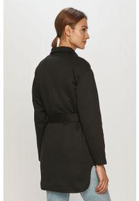 Czarny płaszcz Vero Moda gładki