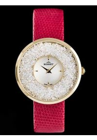 Czerwony zegarek Bisset