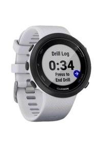 Zegarek sportowy GARMIN Swim 2 Biały. Kolor: biały. Styl: sportowy
