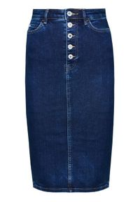 Niebieska spódnica jeansowa Guess