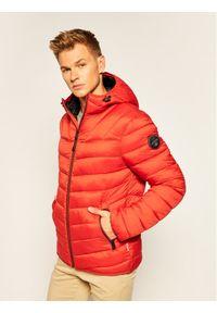 Pomarańczowa kurtka puchowa Napapijri