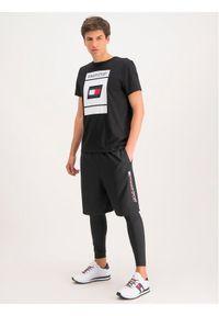Czarne legginsy sportowe Tommy Sport