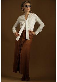 Spódnica Hultaj Polski długa, boho, w kolorowe wzory
