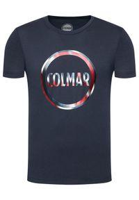 Colmar T-Shirt Frida 7583 6SH Granatowy Regular Fit. Kolor: niebieski