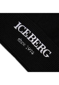 Czarna czapka Iceberg